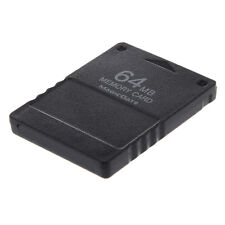 New Black 64 MB 64MB 64M Save Memory Card Stick For Sony PS2 Playstation 2 PS DT