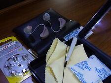 Nunca más pequeña Audífonos Par Nuevo (L&R) Micro Dot 20 por resuenan programado 4u
