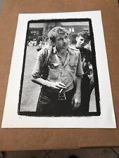 Bob Dylan - 1963 Newport Folk Festival Archival Print signed by Rowland Scherman