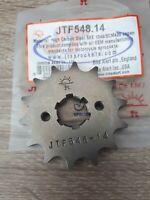 Yamaha YBR125  207-2014 JT Front Sprocket 14 Tooth - (JTF548.14 ) 3D9 51D