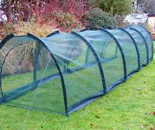 New 5m Allotment Plant Protector Garden Net Mesh Tunnel Cloche Mini Greenhouse