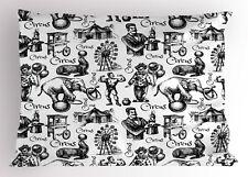 Modern Pillow Sham Circus Magician Theme King Size Pillowcase 36 x 20 Inches