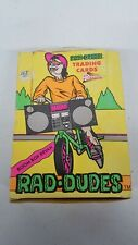 1990 Pacific Rad Dudes Trading Card Box (36 Packs)