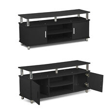 TV Stand Entertainment Center Media Console Home Wood Furni Storage Cabinet New
