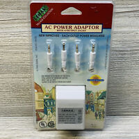 Vtg 1998 New Lemax Xmas Village Collection AC Power Adapter 4 Output Jacks