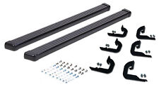 2004-2014 Ford F-150 SUPER CREW CAB Running Boards Black Nerf Bar Side Step