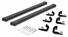 2015-2017 Ford F-150 SUPER CREW CAB Running Boards in Black powder coat nerf bar