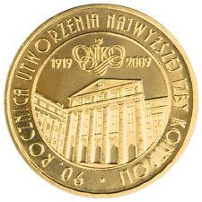 POLONIA 2 Zl. 2009 proof 90 años Camara de Control - Chamber of Control POLAND