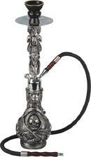 Shisha moderne Wasserpfeife SKULL Nachtleuchtend Totenkopf 1 Schlauch 45 cm NEU