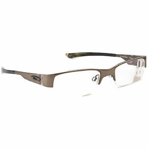Oakley Eyeglasses Ratchet 2.0 Titanium Olive Chrome Half Rim Frame 51[]19 145