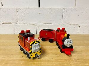 Salty & James - Thomas Mega Bloks Railway Trains compatible with LEGO Duplo