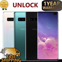 Samsung Galaxy S10+Plus SM-G975U 128GB Unlocked Smartphone Snapdragon AT&TMobile
