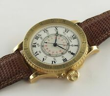 SELTEN! LONGINES HOUR ANGLE XXL 18k GELBGOLD LIMITED REF.: 876.5239 BOX/PAPIERE