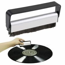 Vinyl Antistatic Carbon Fiber Record Dust Cleaner Brush Turntable Fibre Cleaning