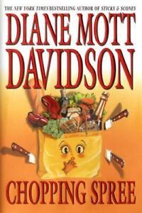Chopping Spree Diane Mott Davidson - New York Times Best Seller Sticks & Scones