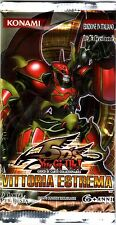 YU-GI-OH TCG Vittoria Estrema PACK ITA ITALIAN FIRST EDITION NEW SEALED RARE