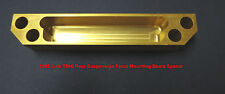 1985 Lola T900 Indycar Rear Suspension Front Mounting Beam Spacer  *NEW*