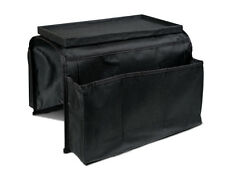 Remote Control Holder Drapes Neatly Over Sofa Arm 6 Pocket Organizer