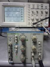 50MHz Pulse Generator Dual Output 20V p-pk TESTED! Tektronix PG507 with TM502A