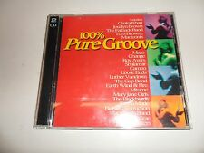 CD 100% pure Groove de various artists (1998) - DOUBLE CD