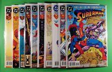 Action Comics #701, 702, 703, 704, 705, 706, 707, 708, 709, 710 Set (DC)