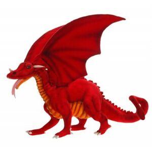 "Hansa Red Dragon, 15"" Stuffed Animal Plush Toy #5936"