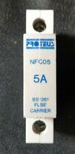Proteus NFC05 5A BS1361 Fusible Fusible portadores con una adecuada