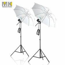 Mk 1200W Continuous Photo Umbrella Lighting Kit for Photo Studio Video Shooting
