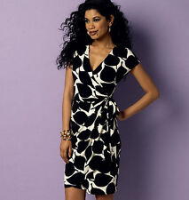 From UK Sewing Pattern Wrap Dress Sewing Bee 14 - 22 #6054