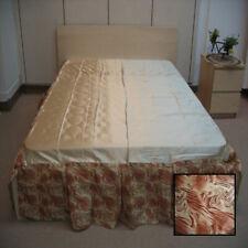 DaDa Bedding Bm6169L-1 King Midas Bed Skirt, Queen size Light & Dark Brown