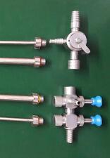 Suction Irrigation Cannula 5 mm 10 mmTrumpet Sliding Type Laparoscopy Instrument