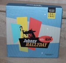 coffret 10ep johnny hallyday 1961-62 sous coffret (excellent état) numéroté