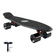 22 Inch Cruiser Skateboard Complete for Cruising Commuting Rolling Around
