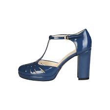 Zapatos Tacones de aguja de mujer de color principal azul