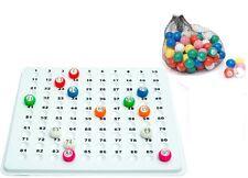 Numero da incasso BINGO chiamando Checker Tavola con gabbia sfere Checkboard Controllo