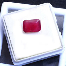 3.50 Ct Certified Rare Natural Red Mozambique Finest Ruby Faceted Gem For Ring