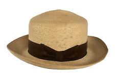 Chapeau 1900 - 1930, London Manufacture en paille, costume