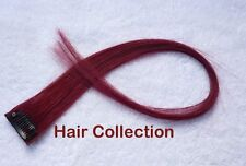 """18"""" Colorful Human Hair Clip on in Extensions for Highlight"""