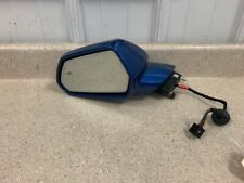 16 19 Chevy Camaro SS Driver Side Mirror Left Heated OEM SS ZL1 Blue LH