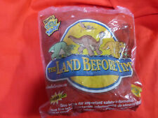 Vintage Wendy's Land Before Time Toy Bank Universal Studios Sealed