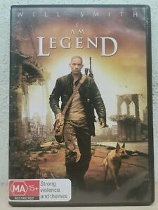 I Am Legend DVD Will Smith Movie - SAME / NEXT DAY - FAST POST - Australian Reg