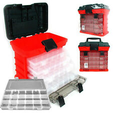 Tool Box Storage Organizer Plastic 4 Drawer Tray Fishing Tackle Hardware Case