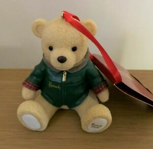 Harrods Christmas Xmas Bauble Ornament Decoration Nicholas Bear Teddy 2020 NEW