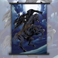 Vampire Hunter D Bloodlust HD Print Anime Wall Poster Scroll Room Decor