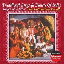 India National Sitar Ensemble: Traditional Songs And Dances of India: NEW CD