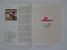 (01j44) promemoria federale foglio 2001 con mangiate MER. n. 2223 saluto marchio per te