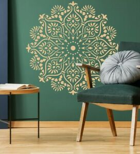 Mandala Large Wall STENCIL Paint Furniture Decor Doily Yoga Reusable Crafts DL32