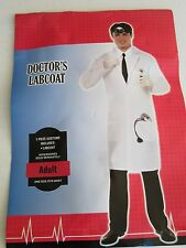 Adult Doctor Lab Coat Costume One Size Fits All