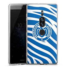 Sony Xperia XZ 2 Premium Silikon Hülle Case - Blaues Zebra MSV