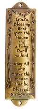 FREE SHIPPING Bless This House Mezuzah Hebrew Parchment Gift Box Jewish Israeli